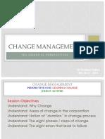 ESLESCA Change Management One