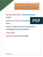 Articulo de Opinion Reforma Laboral