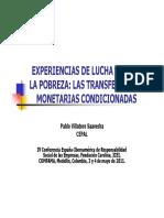 Pablovillatoro-Programas de Transferencia Monetaria en AL