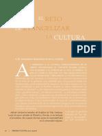 Alfredo Garland El Reto de La Evangelizacion de La Cultura