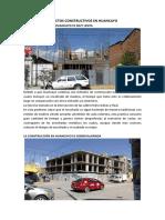 Problemas en La Construccion en Huancayo