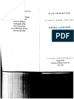 Short-Talks Anne Carson