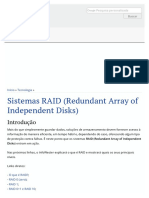 Sistemas RAID (Redundant Array of Independent Disks)