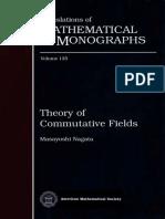 Theory of Commutative Fields - Masayoshi Nagata
