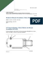 Bomba de Direção Secundária e Motor Elétrico.pdf