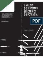Portada Analisis De Sistemas Electricos De Potencia (Stevenson)