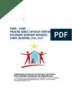 4. Format Laporan Dan Kegiatan Pklt - Untuk Mhsw