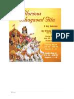 Urmila Bhagavad Gita Overview for Pariticipants