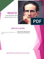SESIÓN DE APRENDIZAJE N° 10 A; LA LÍRICA