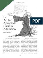 La Actitud Hacia la Adoracion1.pdf