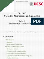 Introducción - Taller 1