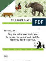 food chain webquest