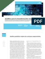 Analttica Para La Transformacion Empresarial