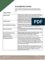 Psychometric Testing Handout (1)