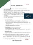 TM Study Guide