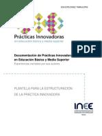Plantilla prácticas innovadoras