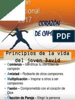 Plan Vacacional 2017 Corazón de Campeón