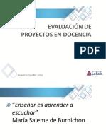 5SP-Evaluación de Proyectos en Docencia