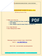 Underground Mining Methods Choice of Methods