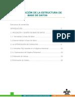 Estructura de DB