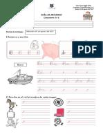 Guía de Refuerzo Consonante B-b