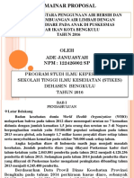 Ppt Proposal Ade