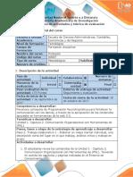 Guía de Actividades y Rúbrica de Evaluación - Paso 2 - Comunicación Organizacional Con Herramientas de (PNL)