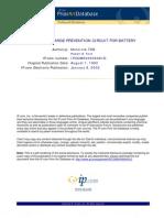 IPCOM000006481D - Deep Discharge Prevention