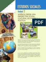 ESTUDIOS SOCIALES. Unidad 2. AMérica Desde Una Perspectiva Social, Cultural, Económica y Política UNIDAD 2
