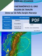 Geología Complejo Metamórfico Sur