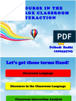 Discourse in the Language Classroom Interaction.pptx