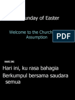 3rd Sunday of Easter -Year A