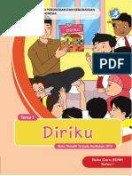 Buku Guru Kelas 1. Tema 1. Diriku