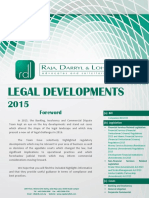 Legal Developments 2015