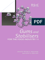 Gums and Stabilisers for the Food Industry