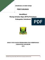 05-KAK Identifikasi RTH Perkotaan Kabupaten Sukabumi 2016