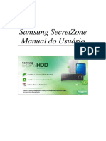 HD Externo Samsung SecretZone User Manual Ver 2.0