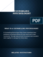counseling psychologist powerpoint