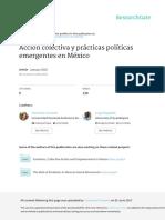 REGALADO GRAVANTE Accion Colectiva Emergente Mexico