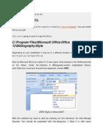 Petunjuk Installasi Dan Penggunaan IEEE Reference