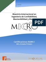 Certificaciones RAMS I