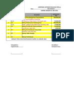 Format Lap Semester I