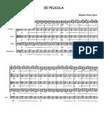 score-Pieza n-¦ 4. De pelicula