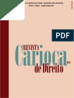 Revista Carioca de Direito (RCD), vol. 1, nº 1,  junho 2010.pdf