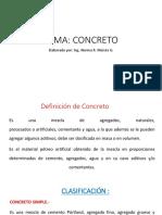 1. Concreto