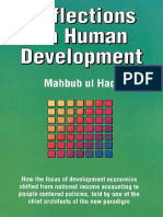Mahbub Ul Haq Reflections on Human Development