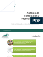 Analisis de Correlacion y Regresion Lineal