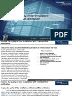 Extended Fiber Certification White Paper