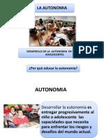 Clase 5 La Autonomia