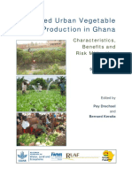 Irrigated Urban Vegetable Production in Ghana